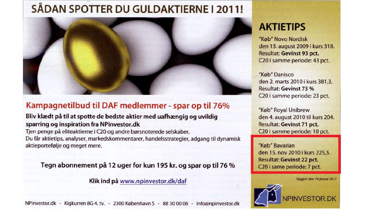 aktier kurser dk